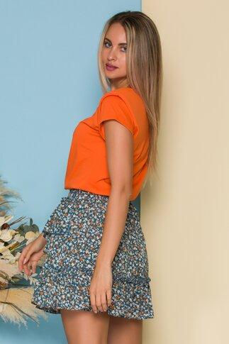 Tricou orange LaDonna by Catalin Botezatu