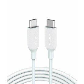 Cablu Anker PowerLine III, USB-C USB-C, 1.8m, Alb