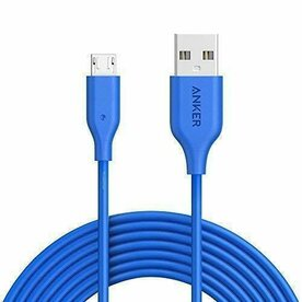 Cablu Micro USB Anker PowerLine 1,8 Metri Albastru