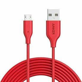 Cablu Micro USB Anker PowerLine 1,8 Metri Rosu