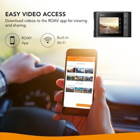 Camera video auto ROAV Dashcam A0 Anker 1080P FHD, WIFI, G-Sensor