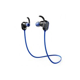 Casti audio wireless bluetooth 4.0 Anker SoundBuds Magnetic Sport Albastru