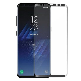 Folie sticla securizata premium full body 3D Samsung Galaxy S9 Plus tempered glass 9H 0,33 mm Benks X-Pro+ NEGRU