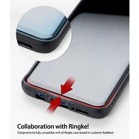 Folie sticla securizata Samsung Galaxy Note 8 Ringke 3D Premium Invisible Screen Defender