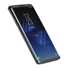 Folie sticla securizata premium full screen 3D Samsung Galaxy S9 tempered glass 9H 0,33 mm Benks X-Pro+ NEGRU