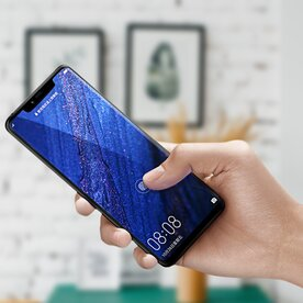 Folie sticla securizata full screen 3D Huawei Mate 20 Pro tempered glass 0,3 mm X Pro+ Benks NEGRU