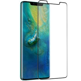 Folie sticla securizata full screen 3D Huawei Mate 20 Pro tempered glass 0,3 mm X Pro+ Benks NEGRU