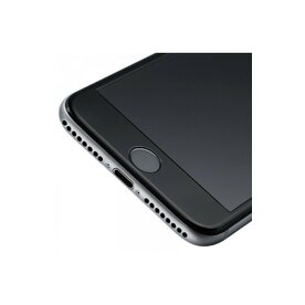 Folie sticla securizata premium full body 3D iPhone 7 Plus tempered glass 9H 0,23 mm Benks NEGRU