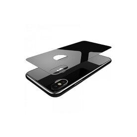 Folie sticla securizata premium full body spate iPhone X tempered glass 9H 0,33 mm Benks X-Pro+ transparent