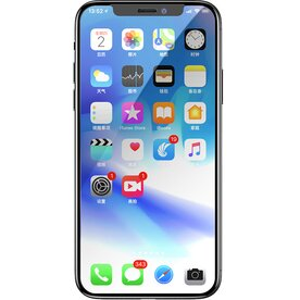 Folie sticla securizata premium full screen 3D iPhone Xs Max 9H 0.23 mm Benks X-Pro+ negru