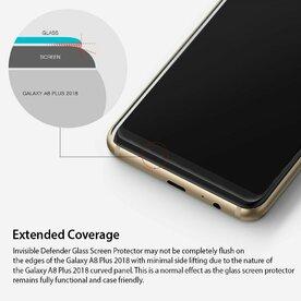 Folie sticla securizata Ringke Galaxy A8 Plus 2018 9H 0,33 mm Ringke ID Glass