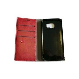 Husa Galaxy S6 Arium Boston Diary Book rosu