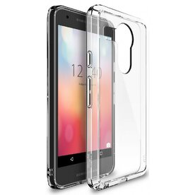 Husa Google Nexus 5X 2015 Ringke FUSION CRYSTAL VIEW TRANSPARENT+BONUS folie protectie display Ringke