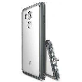 Husa Huawei Mate 8 Ringke FUSION SMOKE BLACk + BONUS folie protectie display Ringke