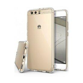Husa Huawei P10 Plus Ringke Fusion Clear + BONUS folie protectie display Ringke