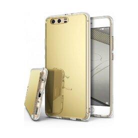 Husa Huawei P10 Ringke MIRROR ROYAL GOLD + Bonus folie display