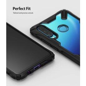 Husa Huawei P30 Lite (Nova 4e) Ringke FUSION X Transparent/Negru