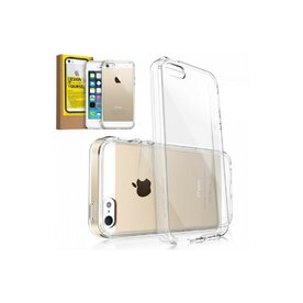 Husa iPhone 5/5s iPhone SE Ringke FUSION CRYSTAL VIEW TRANSPARENT+BONUS folie protectie display Ringke