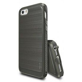 Husa iPhone 5/5s/SE Ringke ONYX MIST GREY + folie Ringke cadou