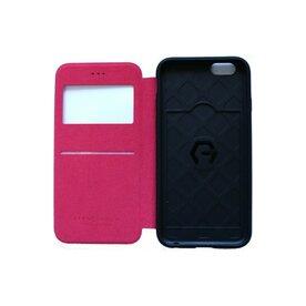 Husa iPhone 6 / 6s Arium French Bumper Flip View rosu