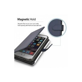 Husa iPhone 6 / iPhone 6s Ringke WALLET NEGRU