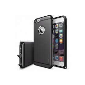 Husa iPhone 6 Plus / 6s Plus Ringke ARMOR MAX  GUN METAL+BONUS Ringke Invisible Defender Screen Protector