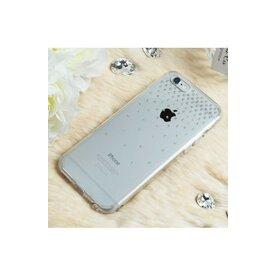 Husa iPhone 6 Plus / 6s Plus Ringke NOBLE SWAROVSKI SUN FUSION SMOKE BLACK cu cristale premium SWAROVSKI