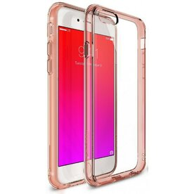 Husa iPhone 6 Plus / iPhone 6s Plus Ringke FUSION ROSE GOLD+BONUS folie protectie display Ringke
