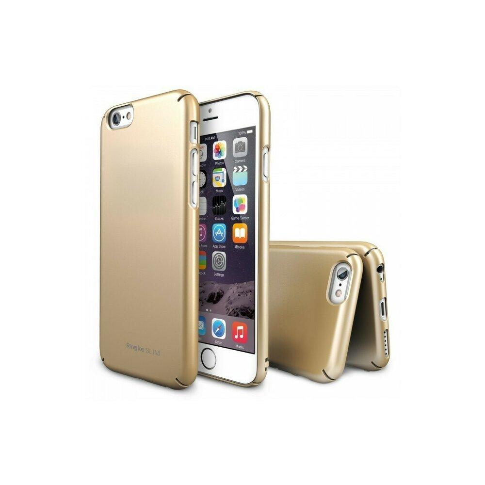 Husa iPhone 6 Ringke SLIM ROYAL GOLD +BONUS folie protectie display Ringke
