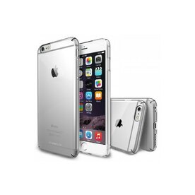 Husa iPhone 6s Plus Ringke SLIM CRYSTAL TRANSPARENT+BONUS Ringke Invisible Defender Screen Protector