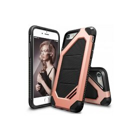 Husa iPhone 7 / iPhone 8 Ringke ARMOR MAX ROSE GOLD+BONUS folie protectie display Ringke