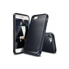 Husa iPhone 7 / iPhone 8 Ringke ONYX MIDNIGHT NAVY + BONUS folie protectie display Ringke