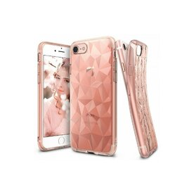 Husa iPhone 7 / iPhone 8 Ringke PRISM ROSE GOLD + BONUS folie protectie display Ringke
