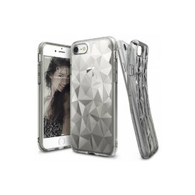 Husa iPhone 7 / iPhone 8 Ringke PRISM SMOKE BLACK + BONUS folie protectie display Ringke