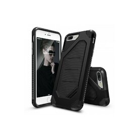 Husa iPhone 7 Plus / iPhone 8 Plus Ringke ARMOR MAX NEGRU + BONUS folie protectie display Ringke