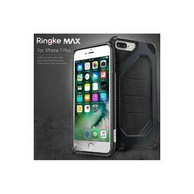 Husa iPhone 7 Plus / iPhone 8 Plus Ringke ARMOR MAX ROSE GOLD + BONUS folie protectie display Ringke