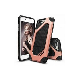 Husa iPhone 7 Plus / iPhone 8 Plus Ringke ARMOR MAX ROSE GOLD + BONUS folie protectie display Ringke