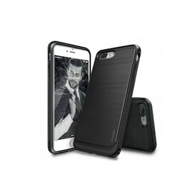 Husa iPhone 7 Plus / iPhone 8 Plus Ringke ONYX BLACK + BONUS folie protectie display Ringke