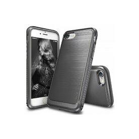 Husa iPhone 7 Plus / iPhone 8 Plus Ringke ONYX MIST GRAY + BONUS folie protectie display Ringke