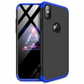 Husa iPhone Xs Max GKK 360 Logo Cut + folie protectie display