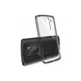Husa LG G3 Ringke FUSION SMOKE BLACK+BONUS folie protectie display Ringke