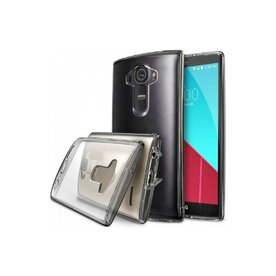 Husa LG G4 Ringke Fusion SMOKE BLACK+BONUS folie protect display Ringke