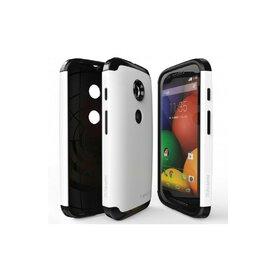 Husa Motorola Moto E Ringke MAX WHITE+BONUS folie protectie display Ringke