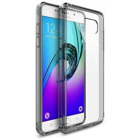 Husa Samsung Galaxy A5 2016 Ringke FUSION SMOKE BLACK + BONUS folie protectie display Ringke