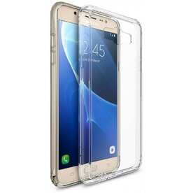 Husa Samsung Galaxy J7 2016 Ringke FUSION CRYSTAL CLEAR + bonus folie Ringke Invisible Screen Defender