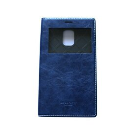 Husa Samsung Galaxy Note 4 Edge Arium Buffalo Flip  View albastru navy