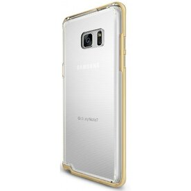 Husa Samsung Galaxy Note 7 Fan Edition Ringke FRAME ROYAL GOLD + BONUS folie protectie display Ringke
