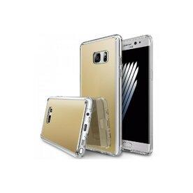 Husa Samsung Galaxy Note 7 Fan Edition Ringke MIRROR ROYAL GOLD + BONUS folie protectie display Ringke