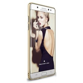 Husa Samsung Galaxy Note 7 Fan Edition Ringke Slim ROYAL GOLD + Bonus folie Ringke Invisible Screen Defender