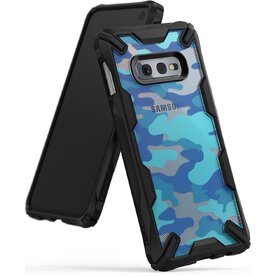 Husa Samsung Galaxy S10e Ringke FUSION X Design Albastru Camuflaj